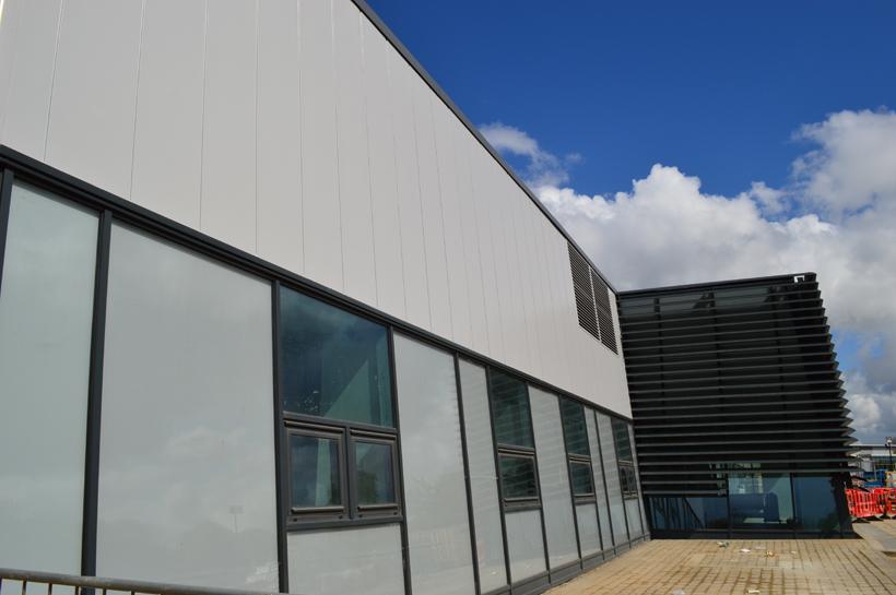 Elliott Hudson College Facade After Refurbishment