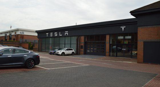 Tesla Leeds front