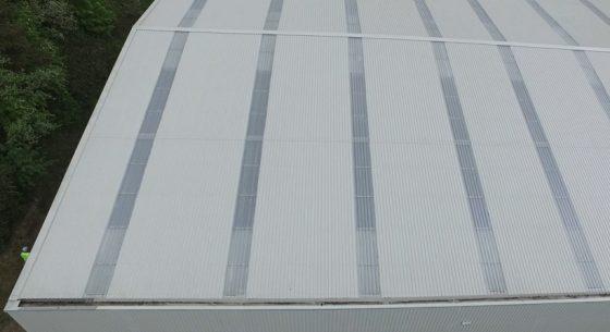 Consett Unit Roof after refurbishment