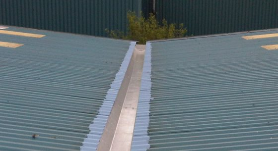 Refurbishment gutter coating campaign