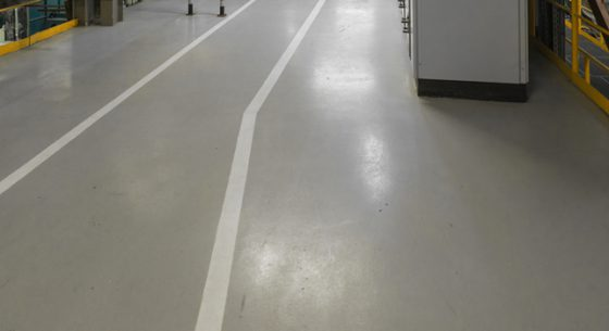 Industrial Floor Refurbishment