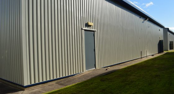 Gilmoss External Wall