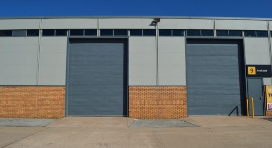 Runcorn Industrial Unit Doors