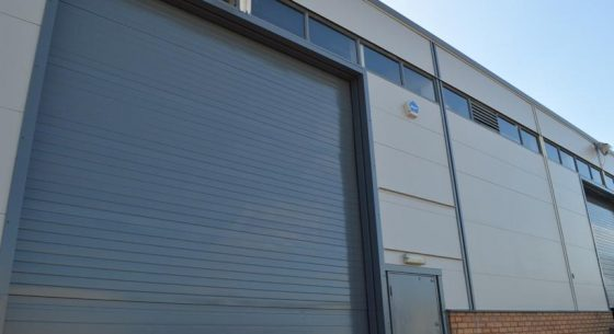 Runcorn Industrial Unit Roller Door Refurbishment