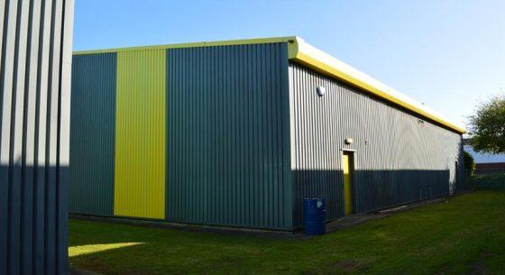 Stonebridge Ind Est unit refurbishment before