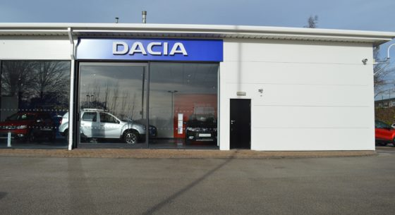 Dacia Showroom Leeds