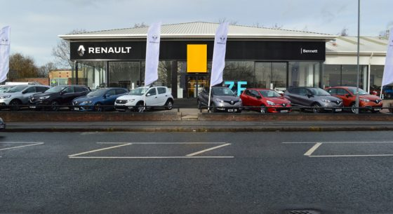 Renault Dacia Car Showroom Leeds
