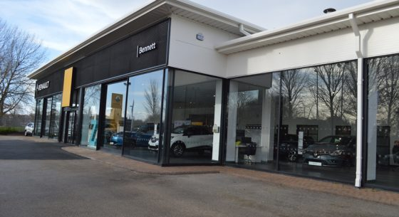 Renault Dacia Showroom Leeds
