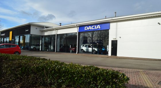 Renault Dacia Showroom Leeds After Coating