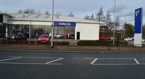Renault Dacia Showroom Leeds Exterior Walls