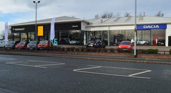 Renault Dacia Showroom Leeds Front