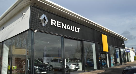 Renault Dacia Showroom Leeds Re-coating