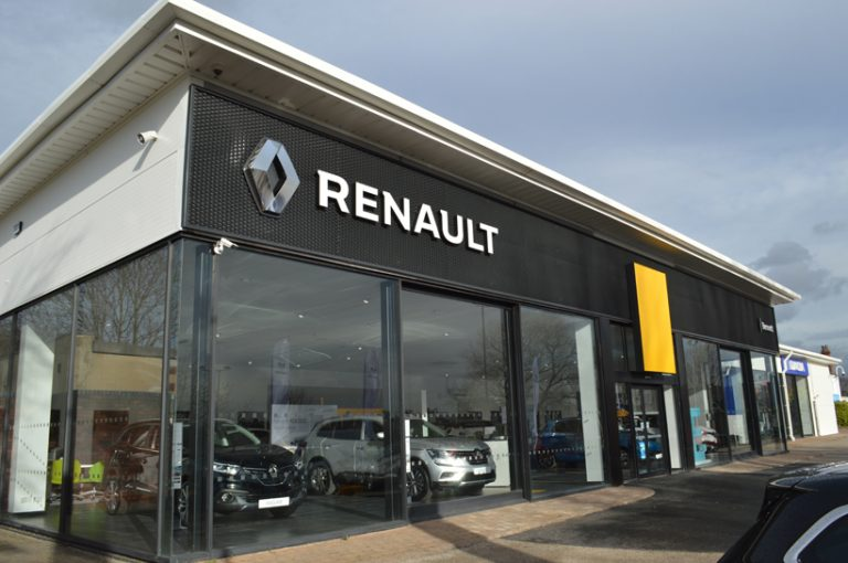 Renault Dacia Showroom Leeds Re-coating