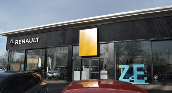 Renault Showroom Leeds