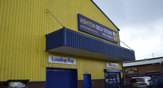 Ashton Self Storage Renovation On-site Spraying