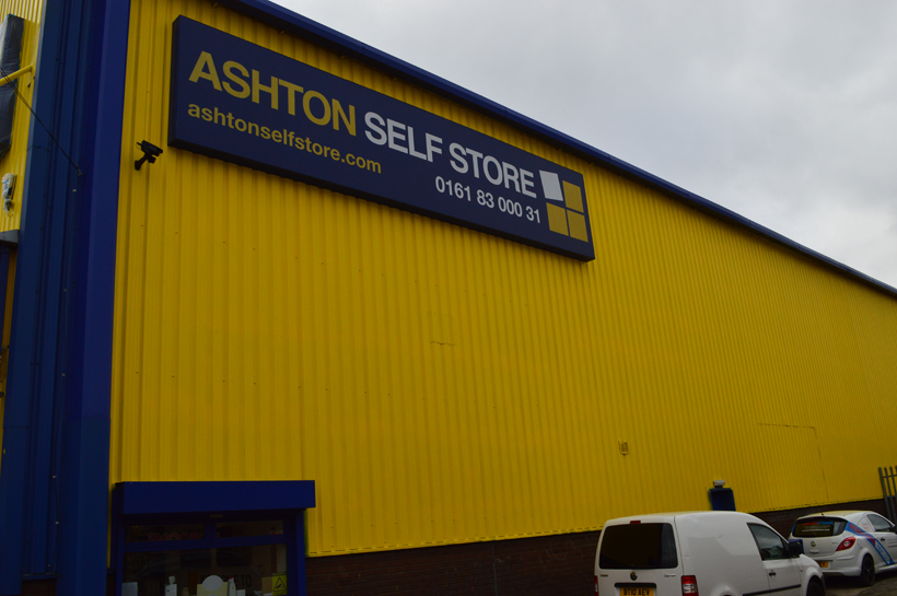 Ashton Self Storage During Coating Refurbishment