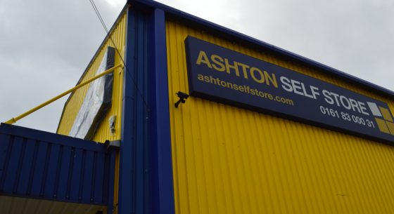 Ashton Self Storage External Refurbishment