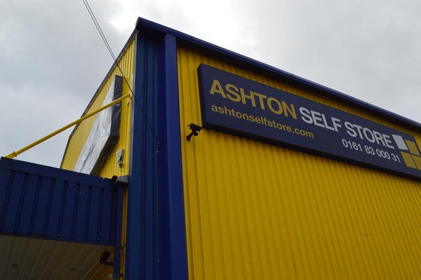 Ashton Self Storage External Refurbishment