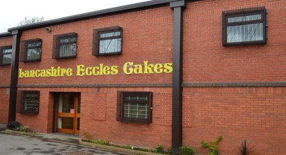 Lancashire Eccles Cakes On-site Spraying