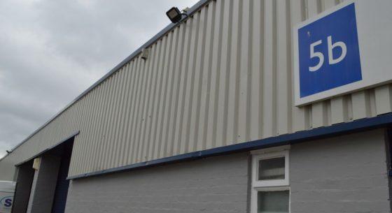 Arrow Industrial Estate On Site Spraying