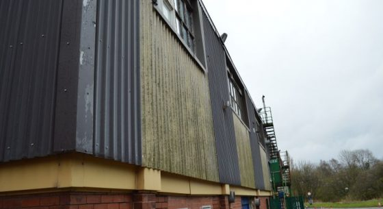 Crane Payment Innovations, Royton, Oldham - Cladding Coatings