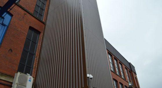 Crane Payment Innovations, Royton, Oldham - Cladding Coatings