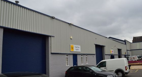 External Refurbishment at Arrow Trading Estate