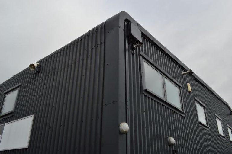 Onsite Respraying Montford Enterprise Centre in Salford