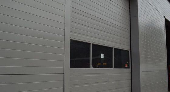 Roller shutter door after