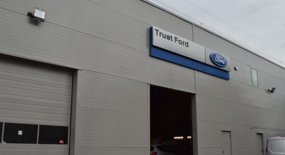 Ford car showroom refurbishment