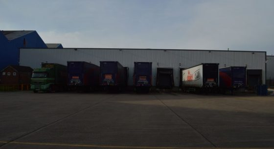 Loading bays after to painting