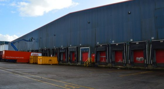 Loading Bays Before Refurbishment