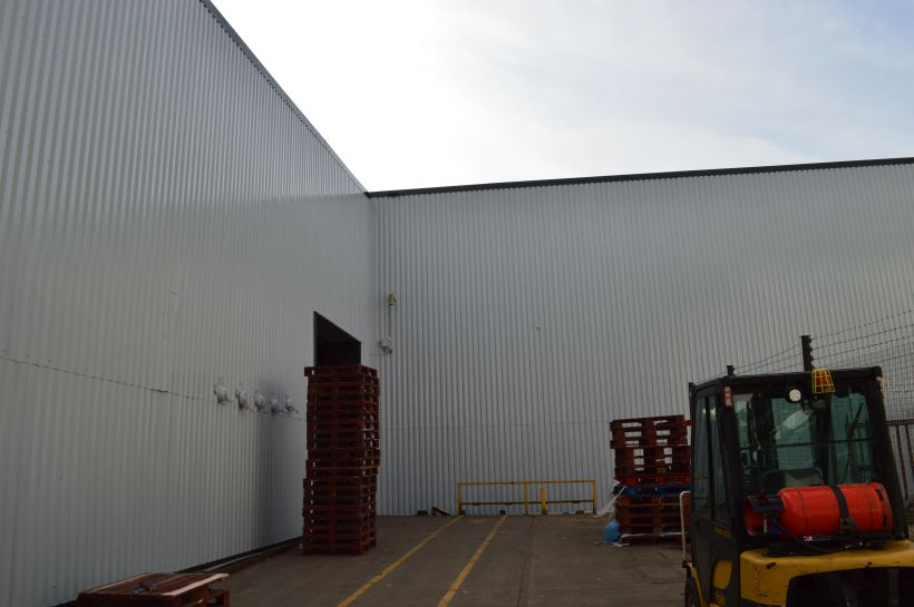 On-Site Spraying Completed