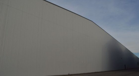 Side Wall After Refurbishment