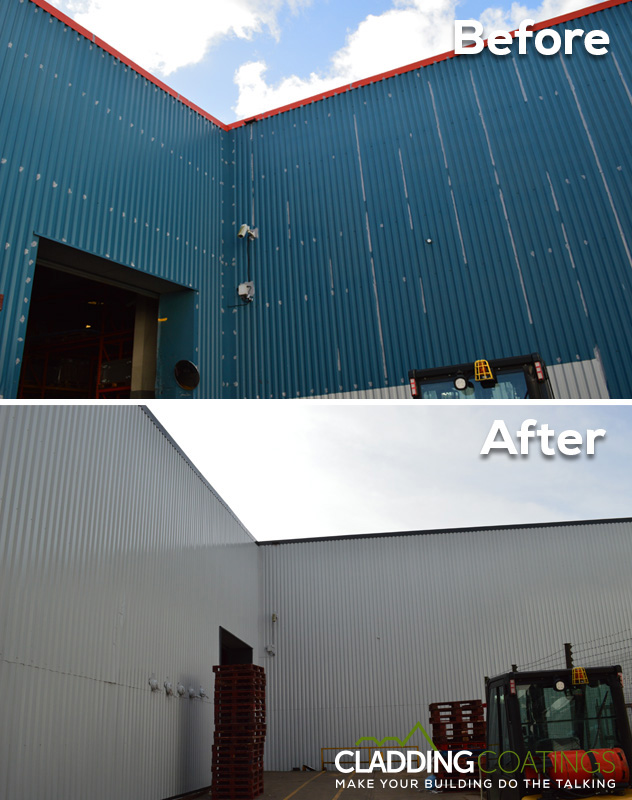 Before and after int corner