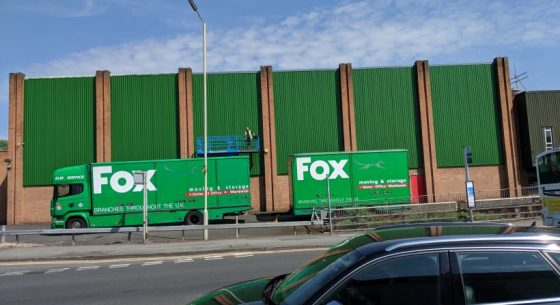 Fox Moving & Moving Cladding Refurbishment