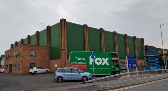 Fox Moving & Storage External Refurbishment