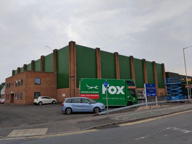Fox Moving & Storage Facility External Refurbishment
