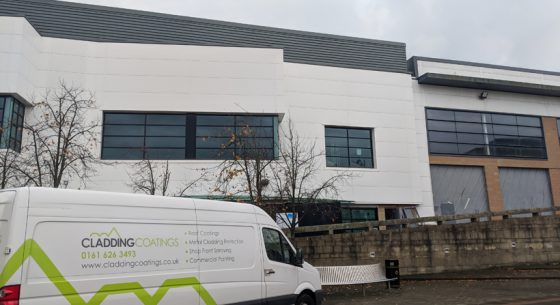 Retail Unit Glasgow Coating