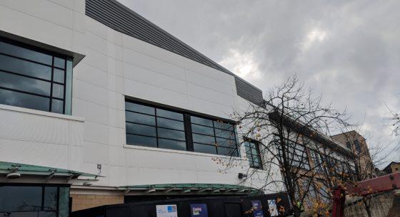 Retail Unit Glasgow Onsite Spraying