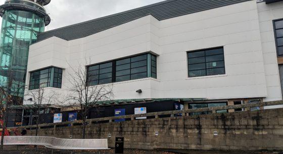 Retail Unit Glasgow after