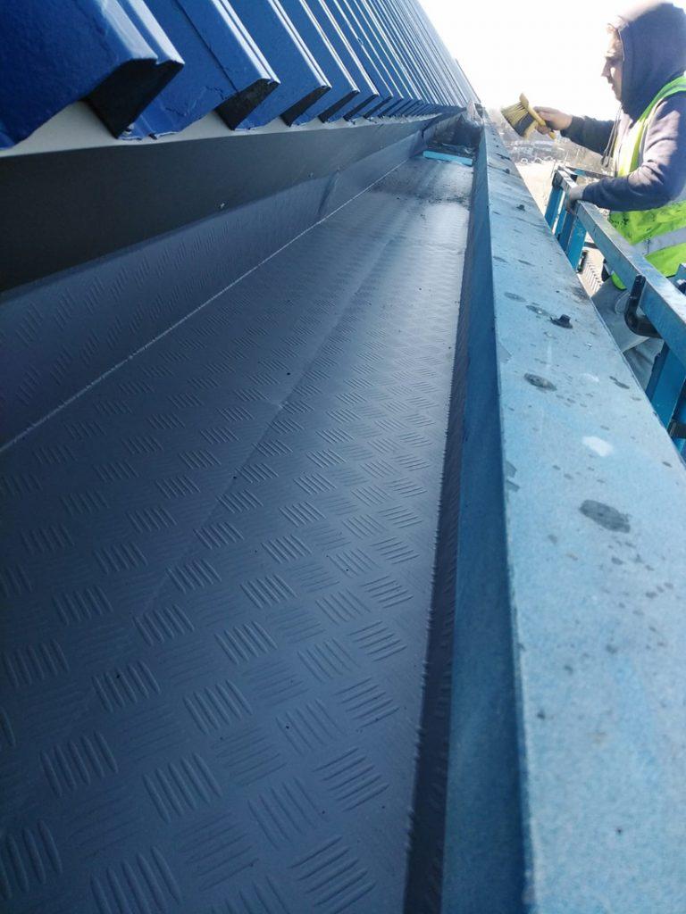 West Bromwich Albion Stadium Gutter