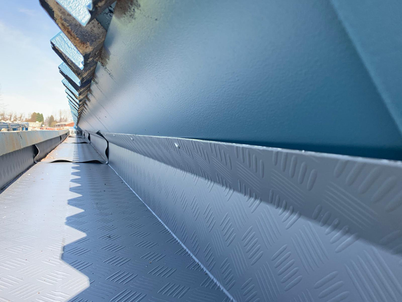 West Bromwich Albion Stadium Gutter Completed