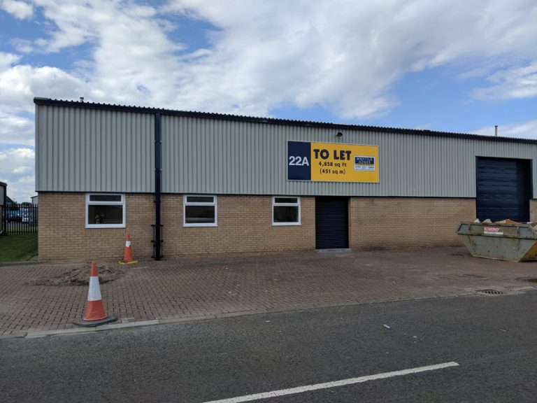 Industrial Unit Blyth Completed