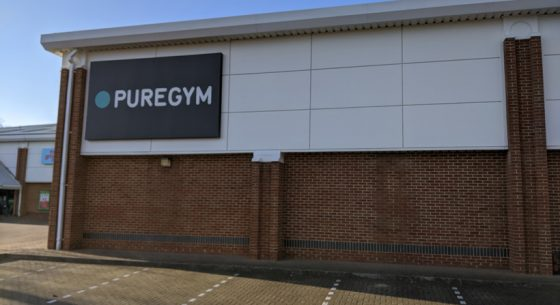 Pure Gym Canterbury External Coating