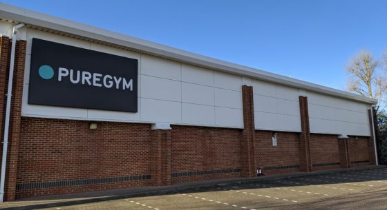 Pure Gym Canterbury Refurbishment