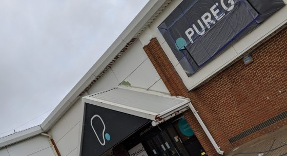 Pure Gym Canterbury project