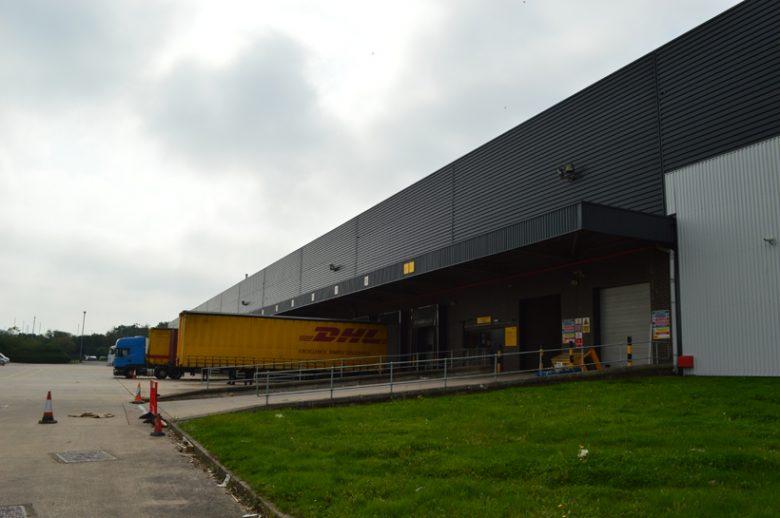 DHL Loading Bays after refurbishment