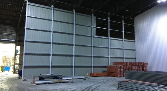 Internal Cladding Partitions