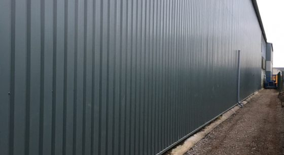 Wall Re-Cladding After